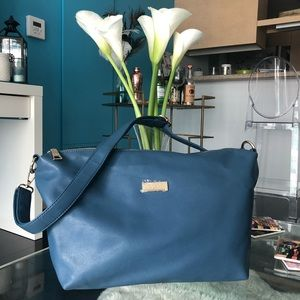 BCBD Paris Royal Blue Crossbody Bag
